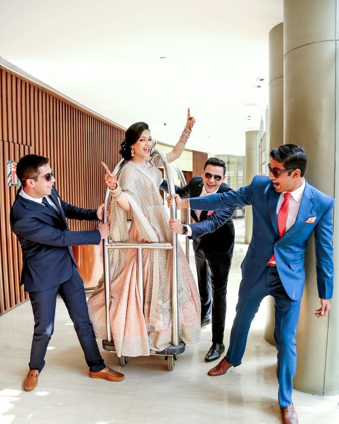 bridal entry, bride entry ideas, bride in trolley