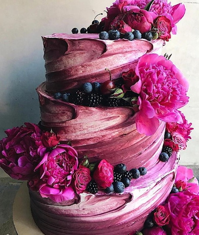 Wedding Cake Ideas 2018