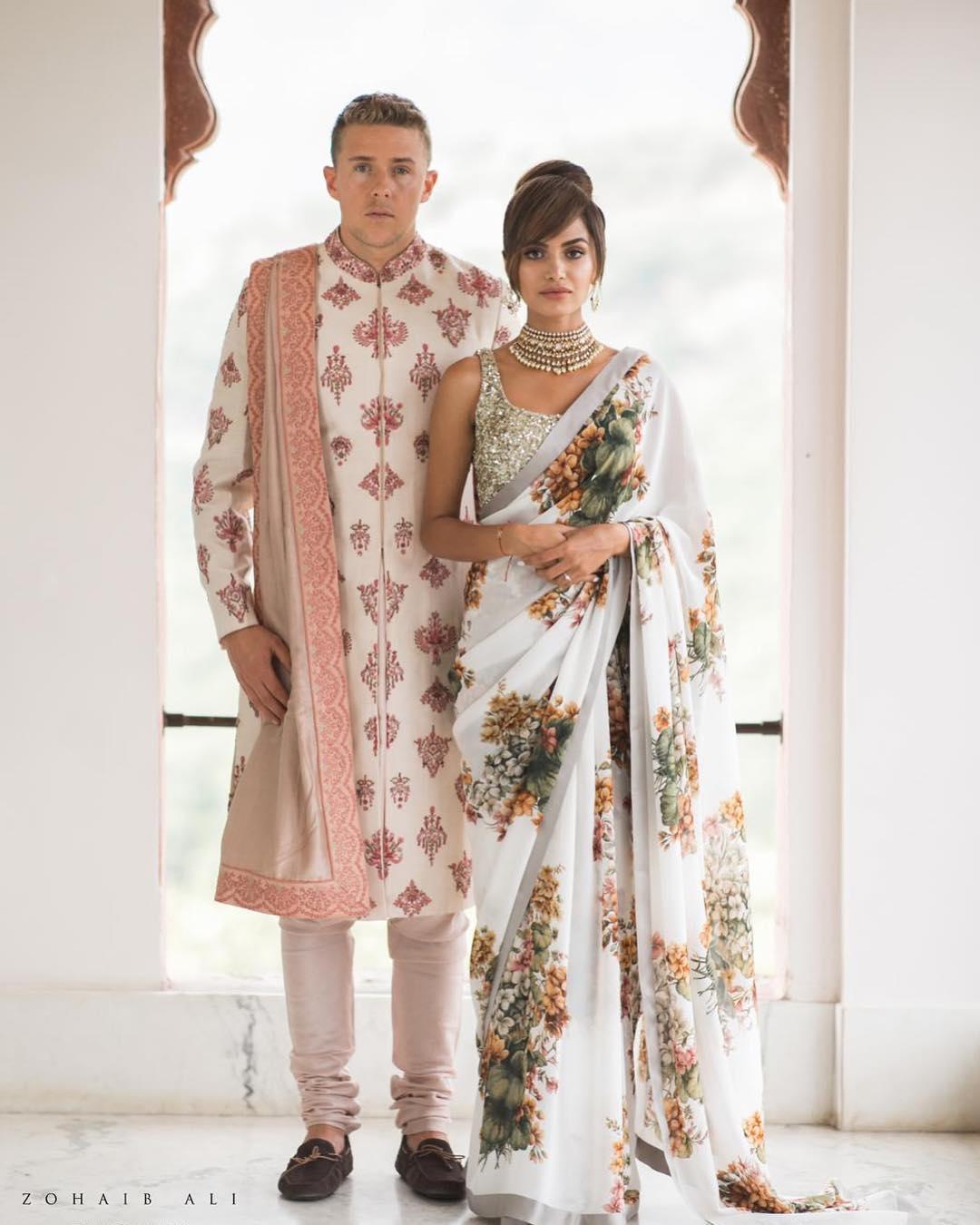 Sabyasachi Saree , Diipa Khosla wedding
