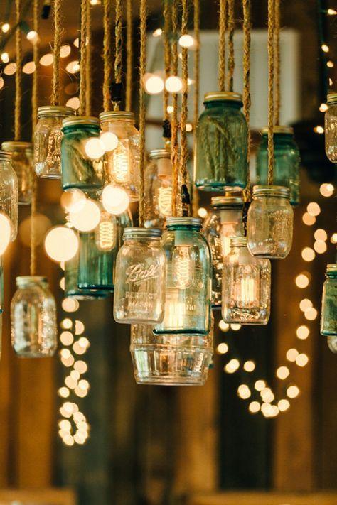 budget wedding decor, budget wedding decor ideas, DIY chandelier, DIY chandelier ideas, candle chandelier, flower chandelier, umbrella chandelier ideas