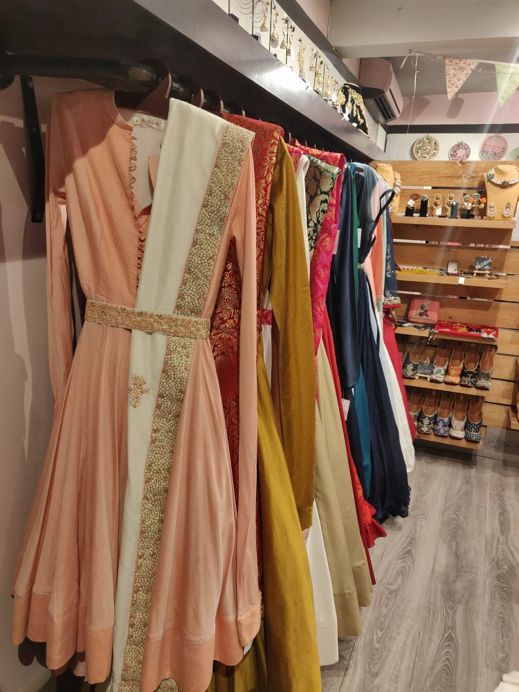 bridesmaid outfits, anarkali One Pretty Girl