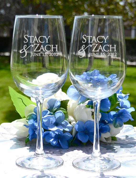 unique wedding favors, wedding favors, destination wedding, wine glasses