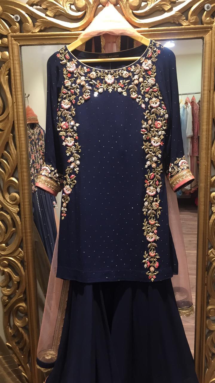 bridesmaid outfits shararas for bridesmaid indian wear, Sanna Mehan