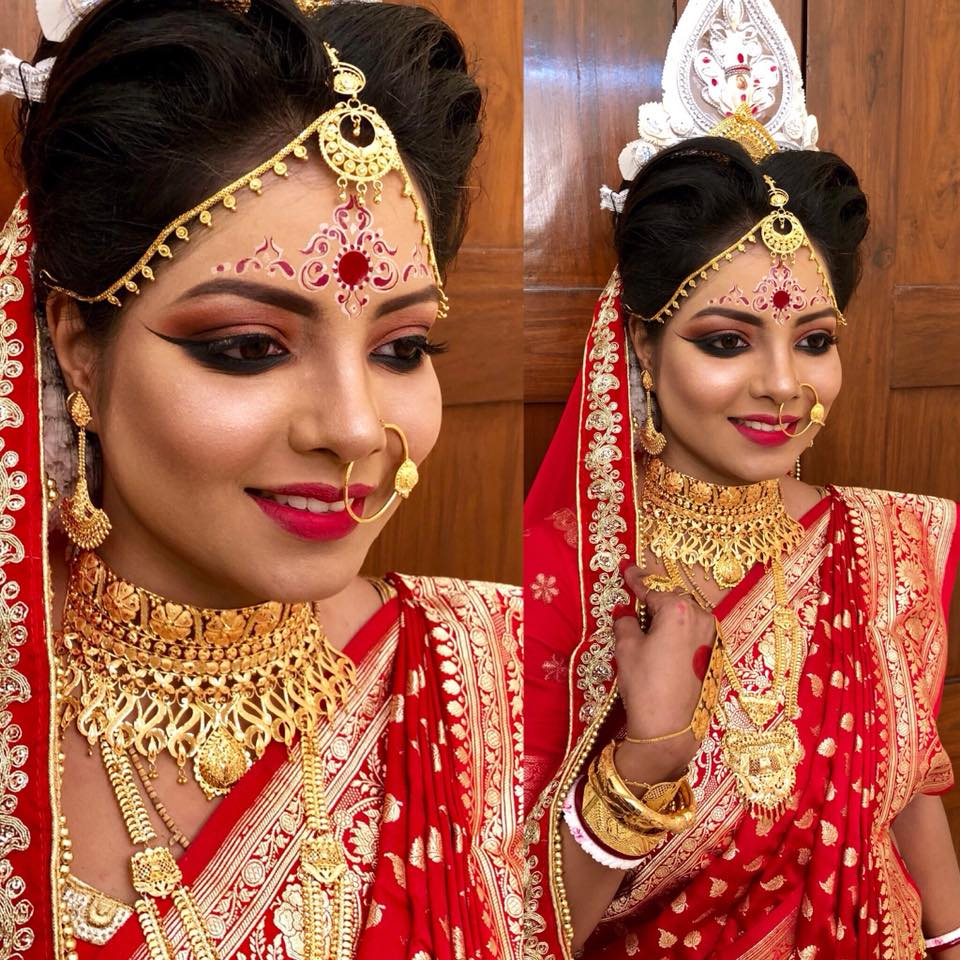 top 10 bridal makeup artists in kolkata for your wedding