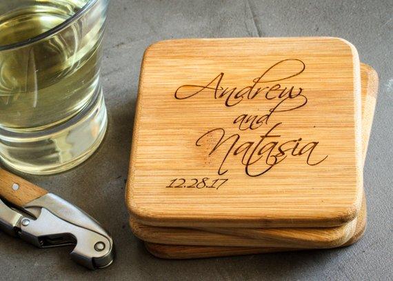 unique wedding favors, wedding favors, destination wedding, coasters