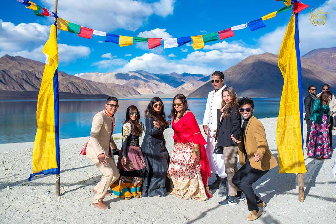 eco-friendly wedding, day wedding, destination wedding, hills, leh ladakh,