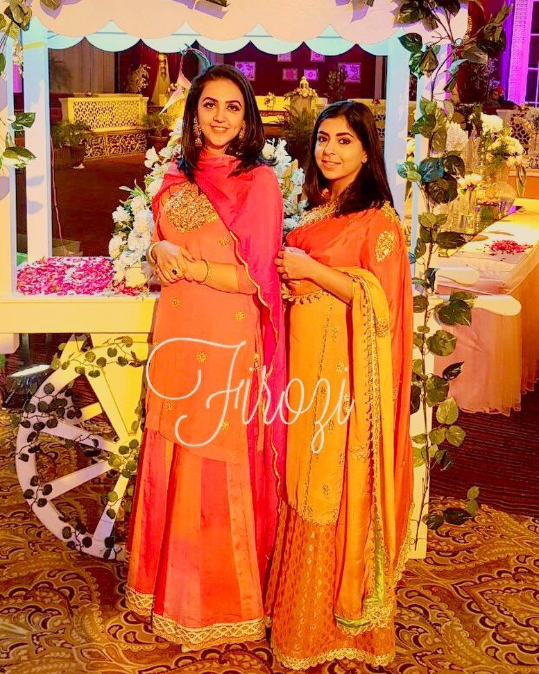 bridal outfit, bridal sharara, sharara, Firozi, designers in Punjab