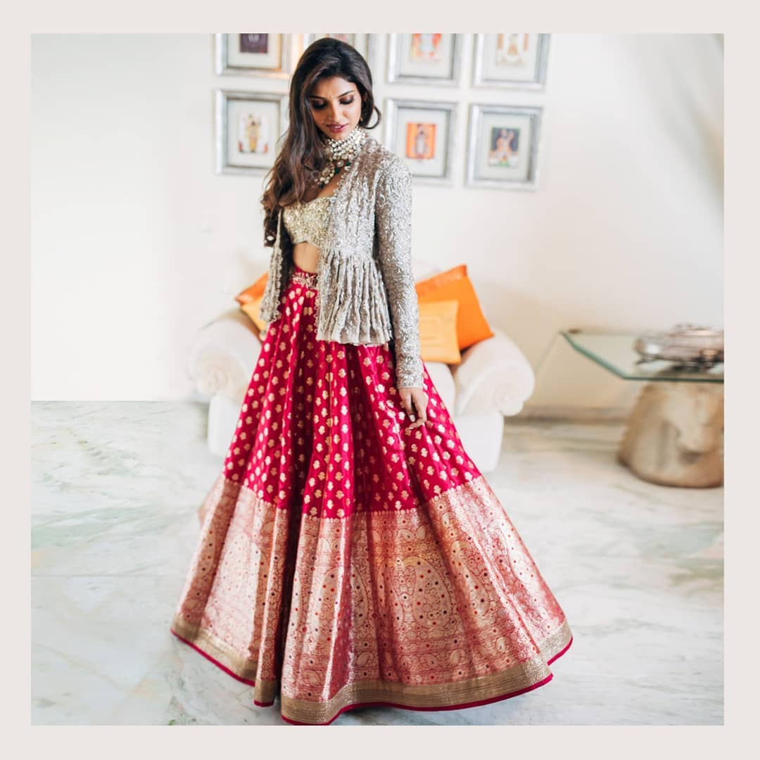 bridal lehenga, ways to wear bridal lehenga again
