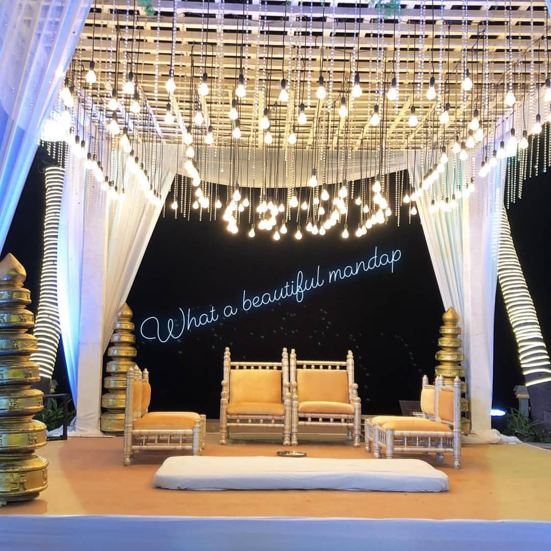 unique wedding trends, mandap decor ideas, unique mandap decor ideas