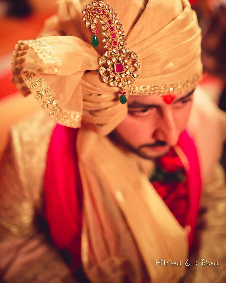 indian groom, groom accessories, kalgi, groom trends, groom shopping, groom outfit ideas