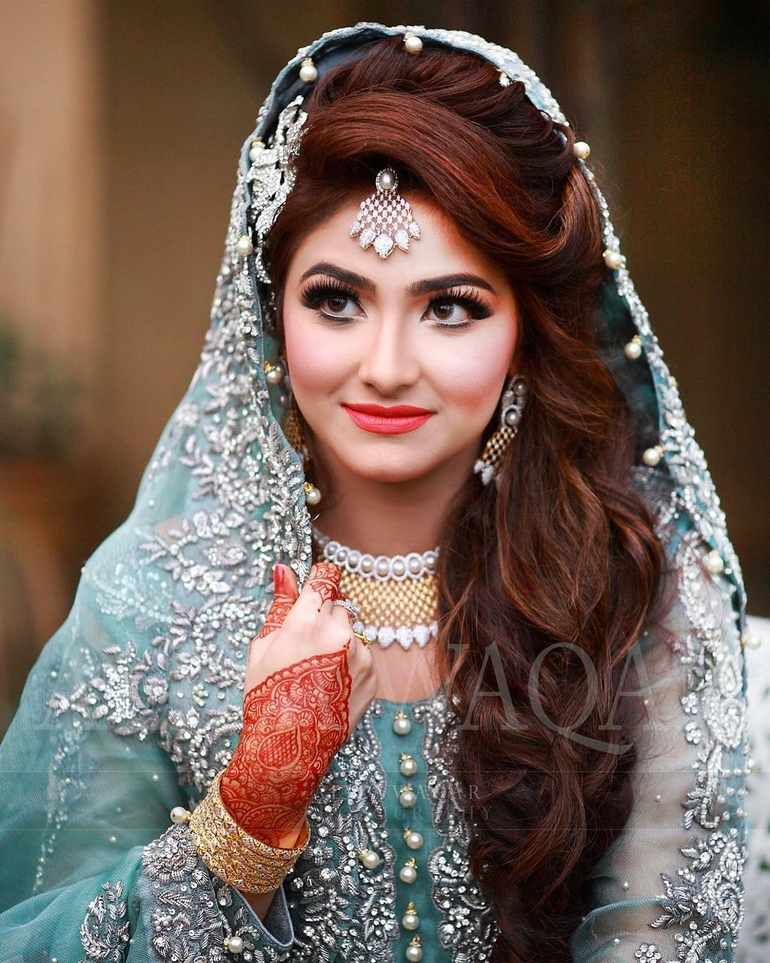 Wedding Hair Style Side: Pakistani Brides Giving Major Bridal Hairstyle Goals