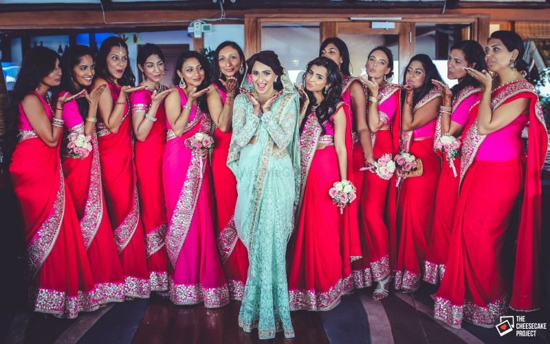 bridal saree, wedding saree