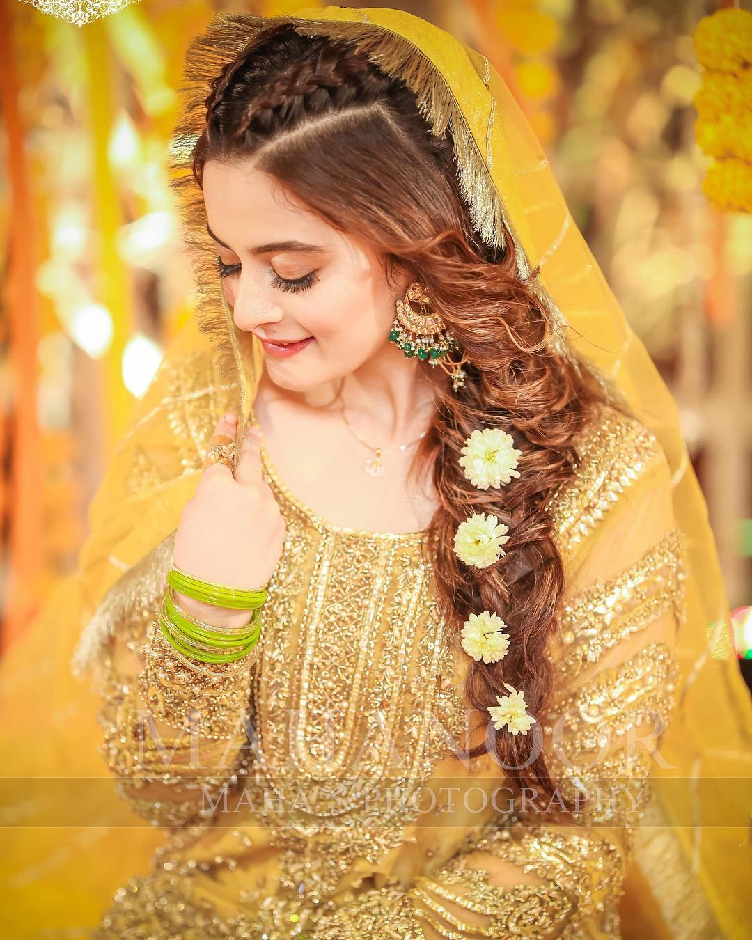 Mehndi Hairstyles: Pakistani Brides Giving Major Bridal Hairstyle Goals