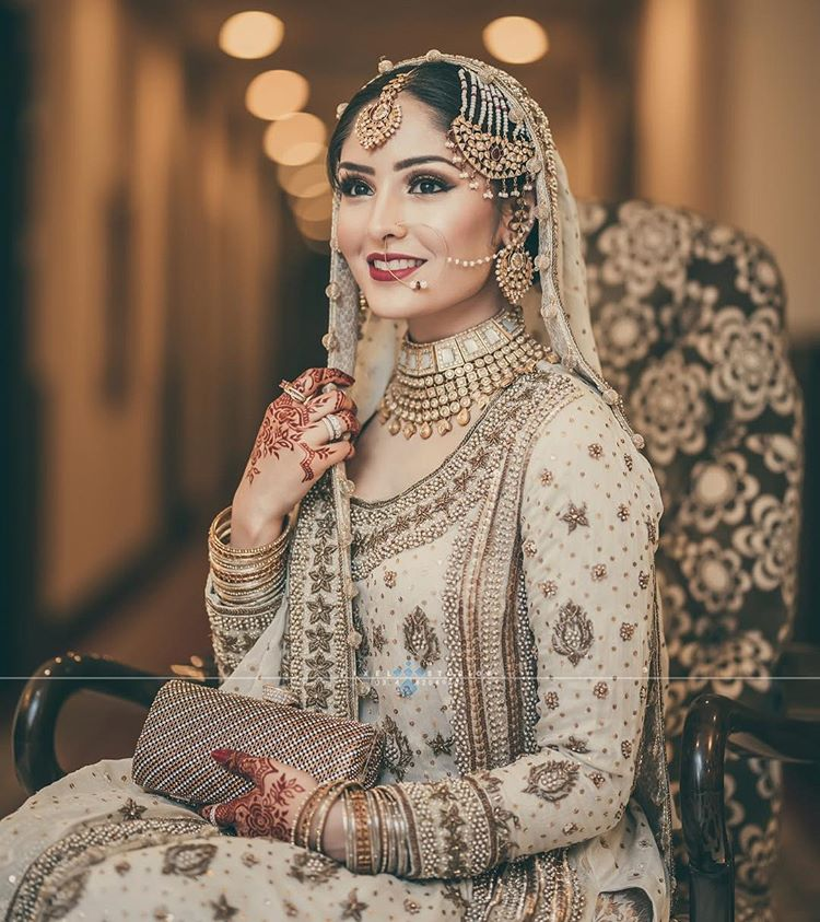 Wedding Hairstyle Pakistani: Pakistani Brides Giving Major Bridal Hairstyle Goals