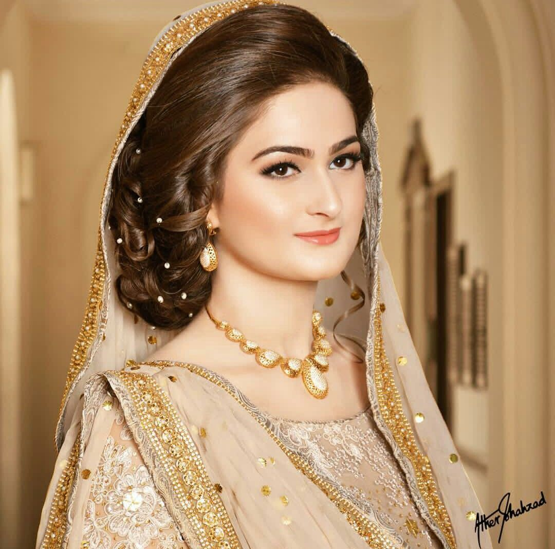 Hairstyles Pakistani Waleema: Pakistani Brides Giving Major Bridal Hairstyle Goals