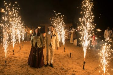desert wedding, couple shoot, wedding photography, fireworks
