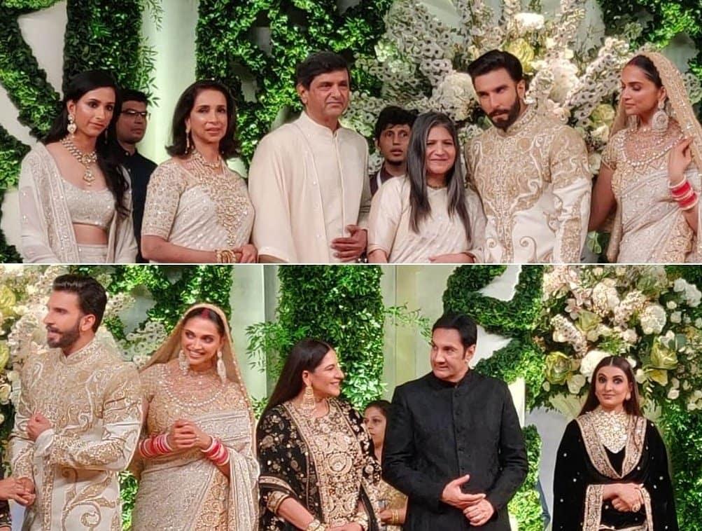 deepika padukone, Ranveer Singh, Deepveer wedding, deepveer family