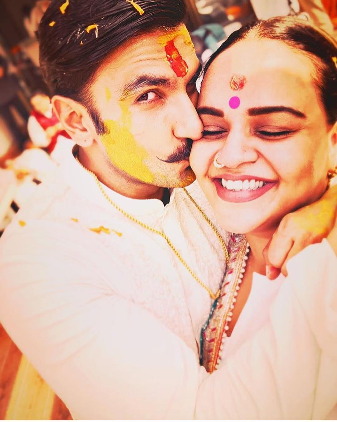 deepveer wedding, ranveer singh, deepika padukone, ranveer singh's haldi ceremony, haldi ceremony, deepveerkishaadi