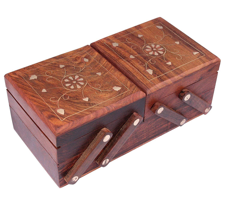 mehendi favors, unique mehendi favors, wooden jewellery box, jewellery box