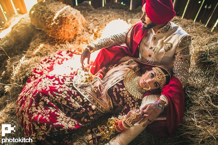 Indian wedding photographers in Canada, indian weddings, wedding photography, Canada, indian weddings in Canada, couple portrait, groom outfit, bridal outfit, indian bride, indian groom, bridal lehenga, Photo Kitch