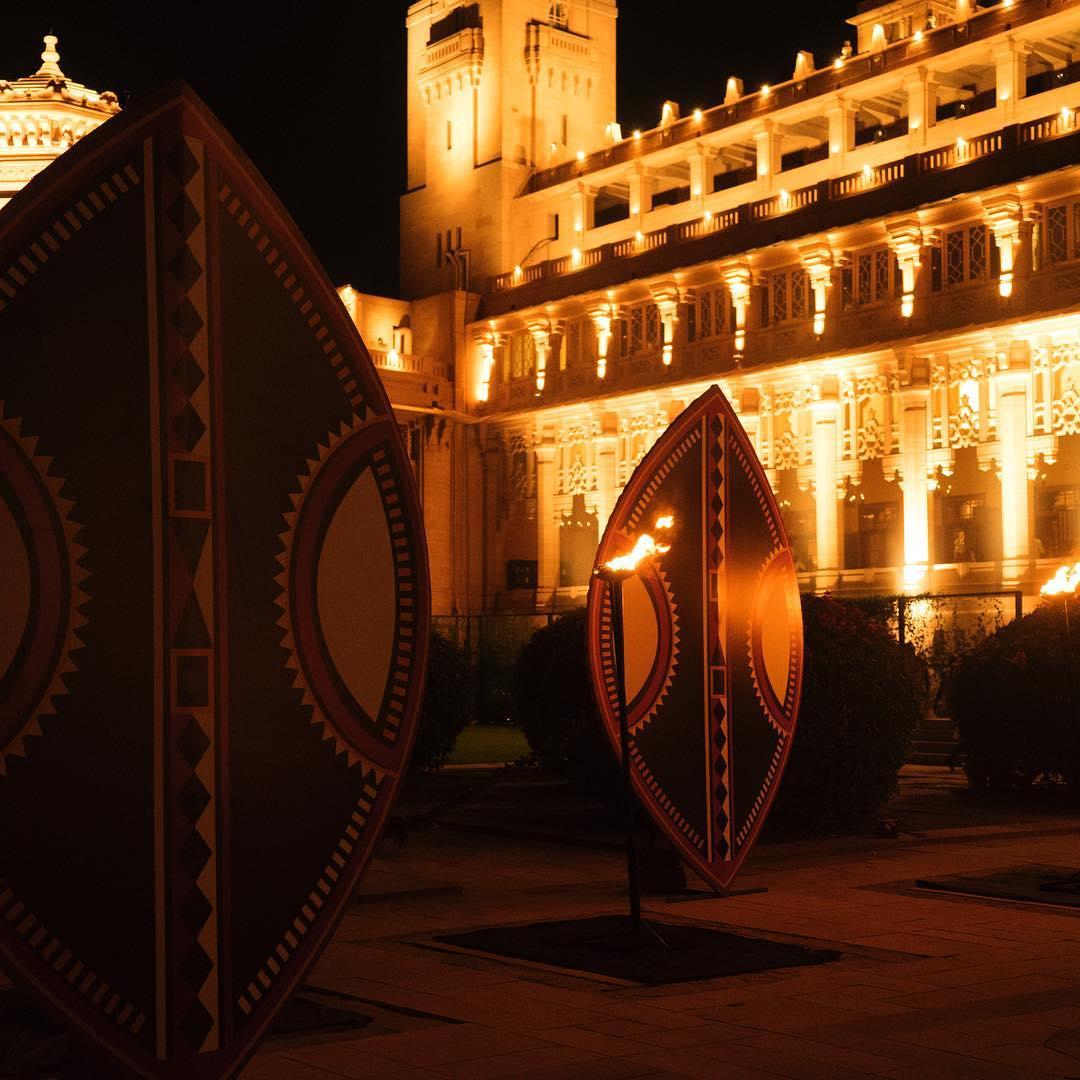 mehrangarh fort decor, wedding decor, savitri singh wedding, destination wedding