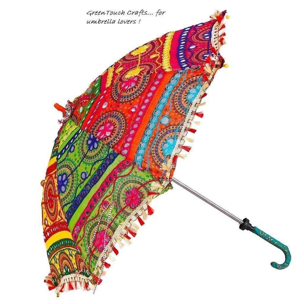 mehendi favors, unique mehendi favors, umbrella, colourful umbrella, rajasthani handcrafted umbrella