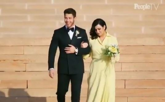 priyanka nick christian wedding
