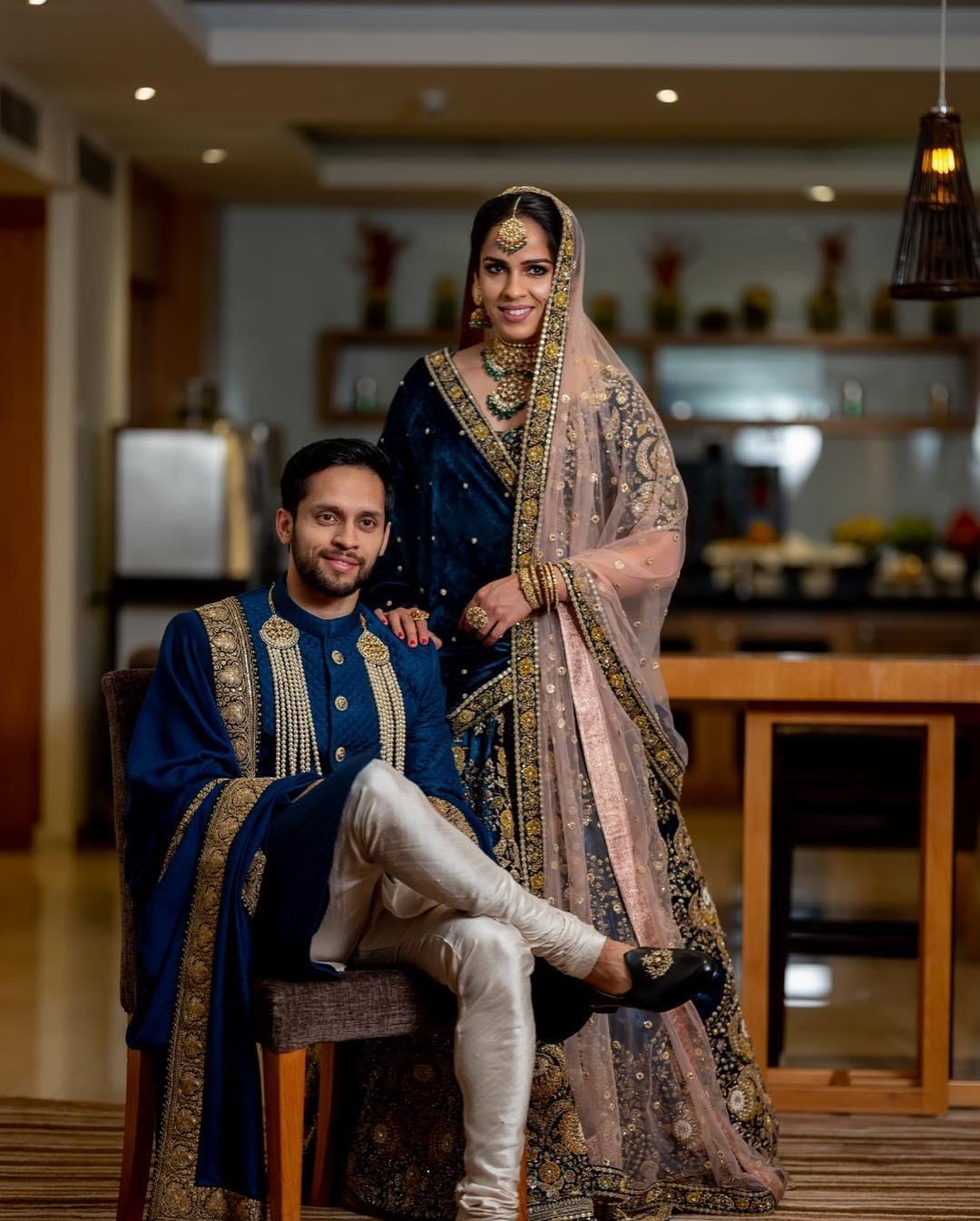 Saina Nehwal wedding and reception