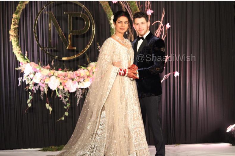priyanka nick delhi reception photos