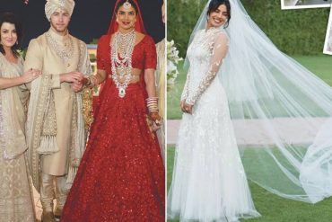 372c2a1b47f Priyanka Chopra s wedding gown Archives - ShaadiWish