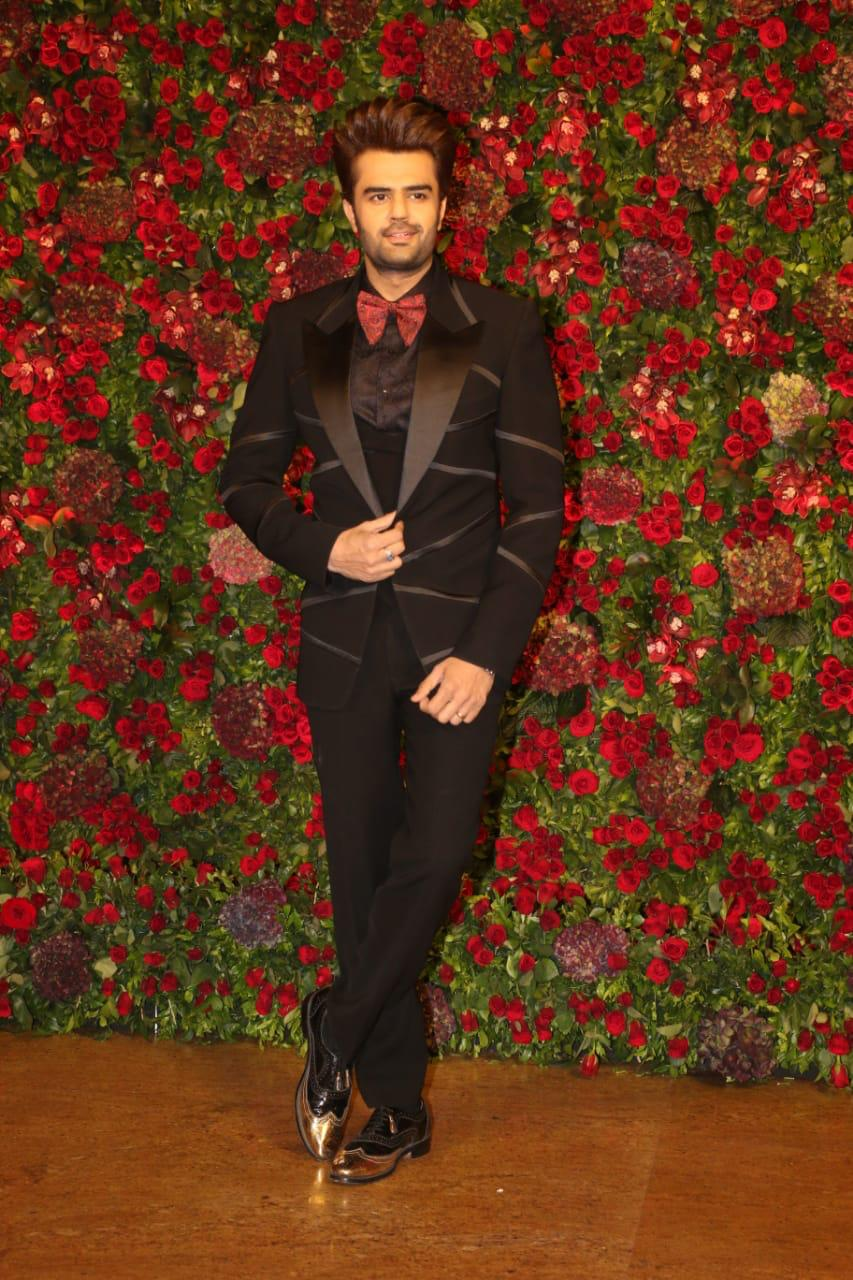 manish paul, deepveer reception