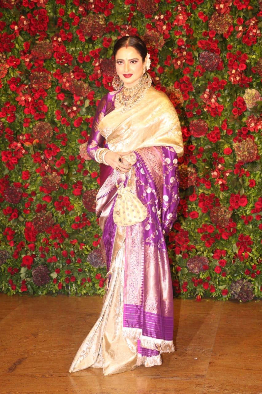 Rekha, deepveer reception