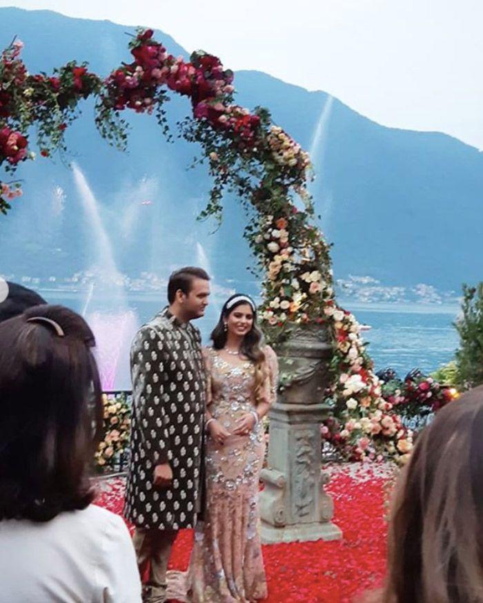 Isha Ambani engagement, engagement outfit