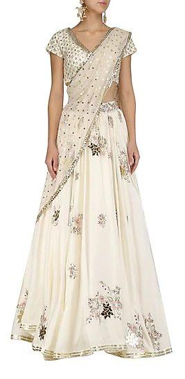 ivory colour outfit, ivory lehenga choli, lehenga choli ideas, bridesmaid lehenga ideas, bridesmaid outfit ideas, bridal wear