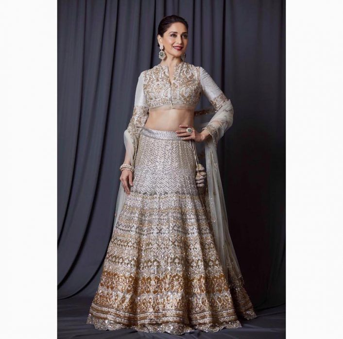 Madhuri Dixit, Jade by MK, lehenga, wedding look