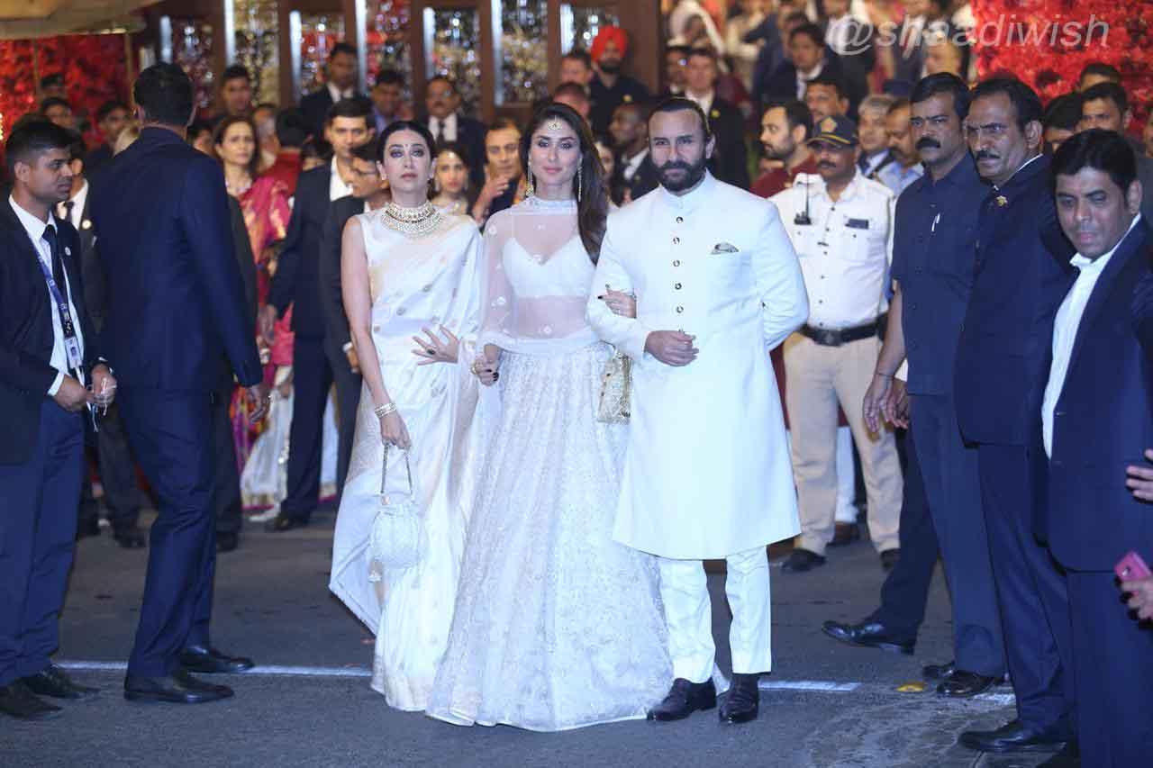 Saif Ali Khan, Kareena Kapoor, Karishma Kapoor