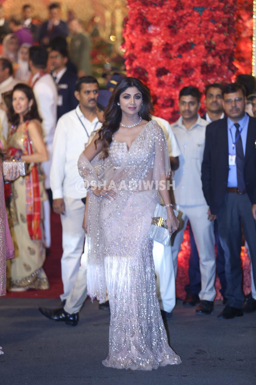 Shilpa Shetty, wedding look