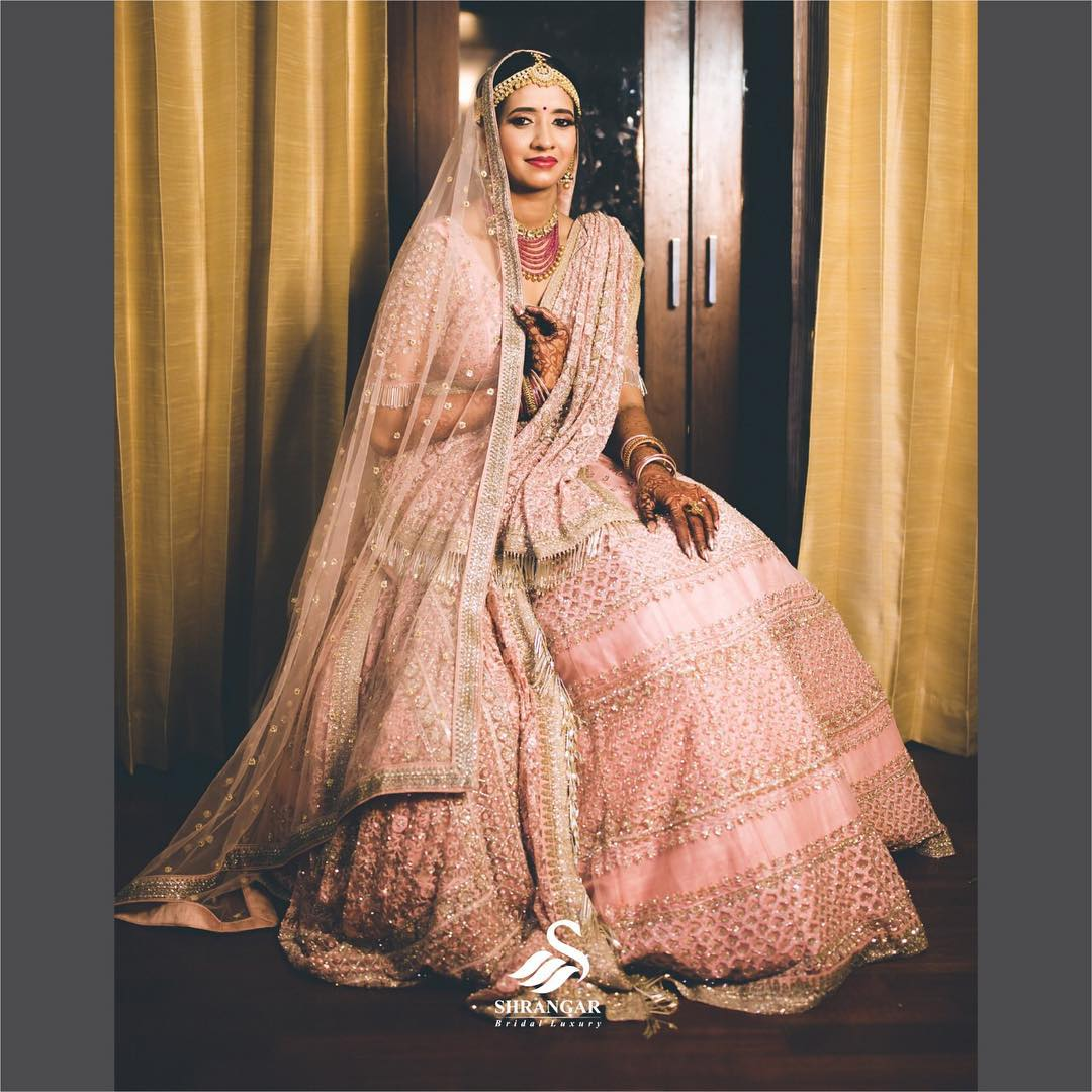 bridal lehenga shopping Chandni Chowk