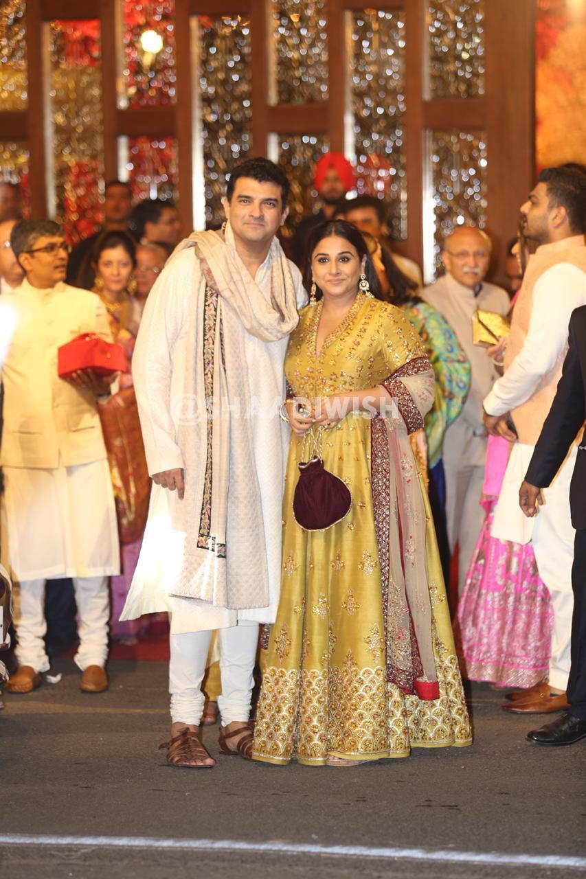 Vidya Balan, wedding outfit