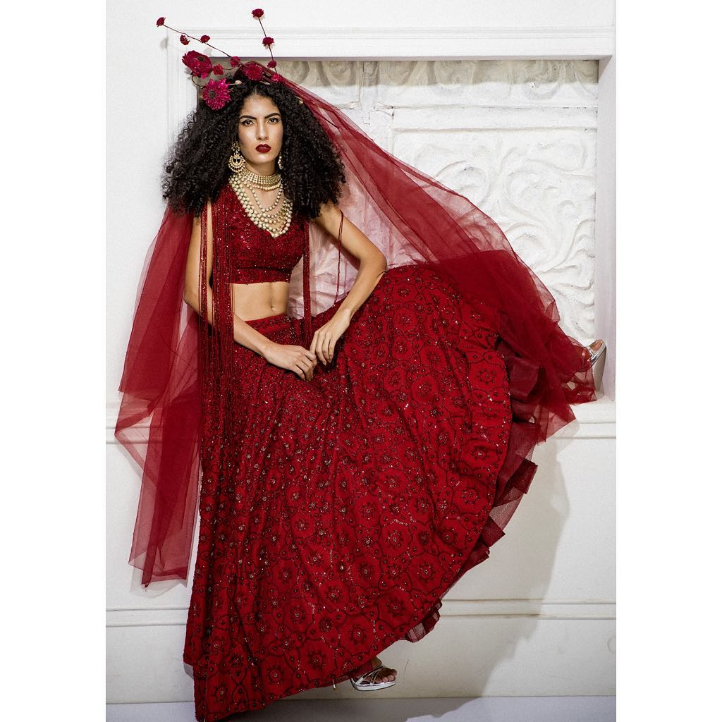 bridal gowns in delhi