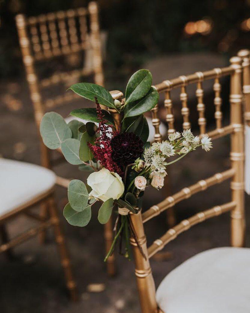 wedding chair decor