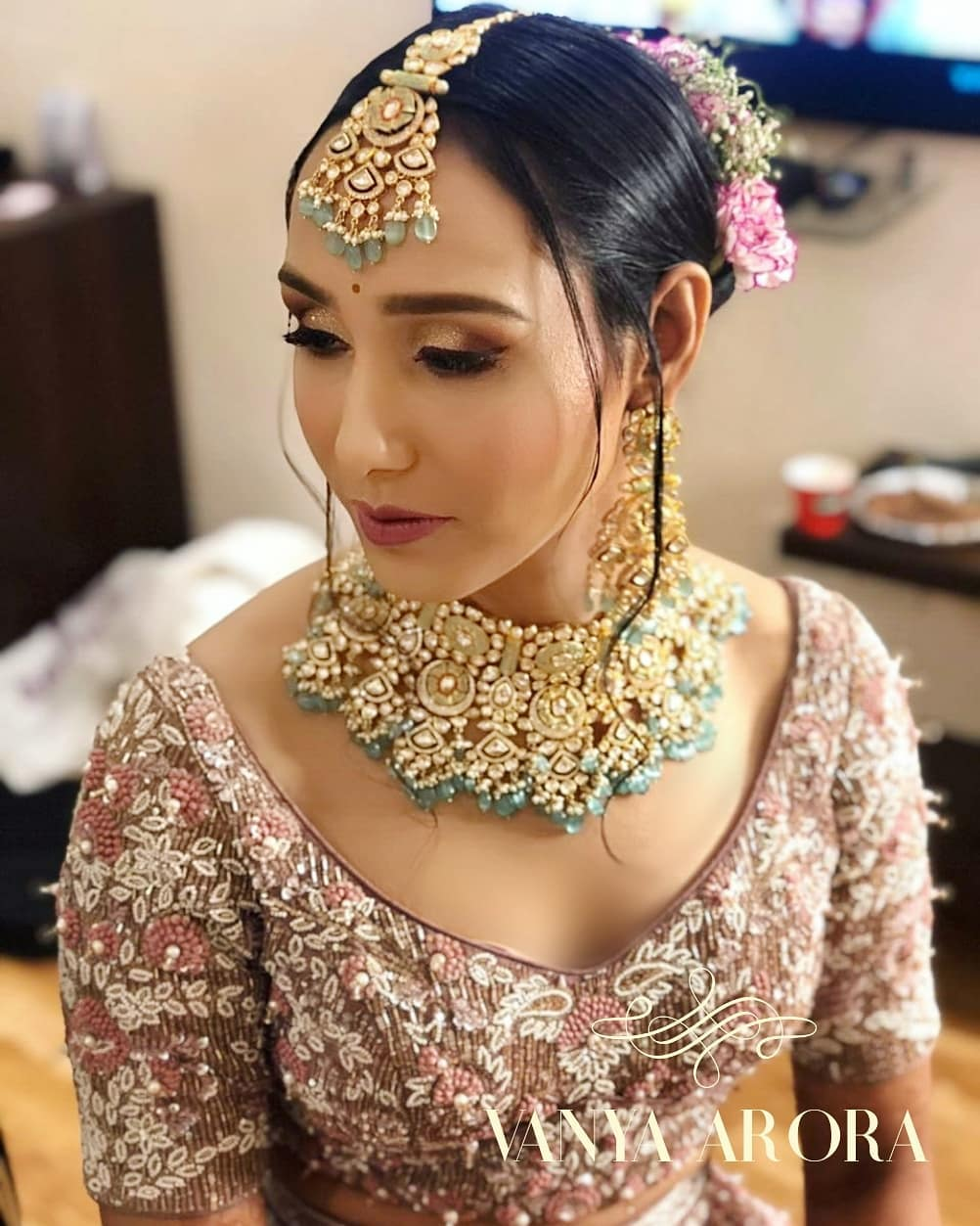 Bridal mangtikka