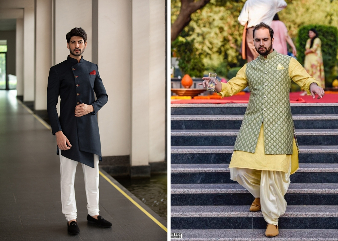 260090c472297 Groom Wear Guide 101  Indian Groom Wear Options For Different Wedding  Ceremonies