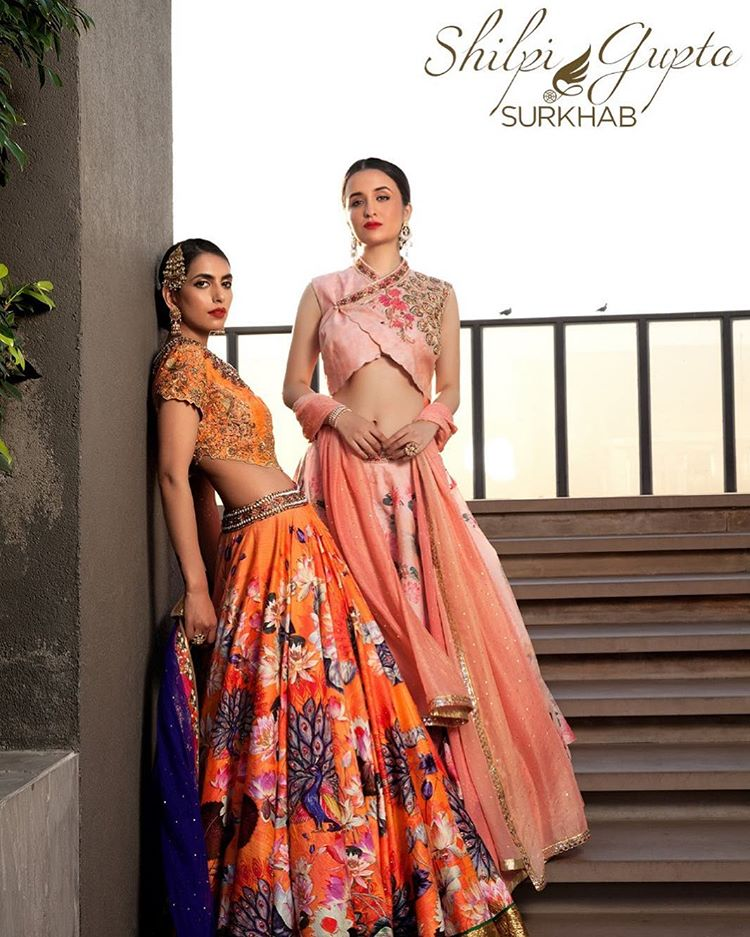 designer bridal lehengas