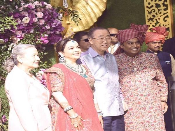 moments at akash ambani wedding
