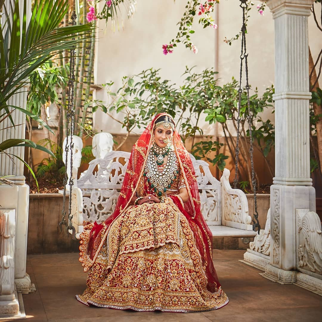 shloka mehta wedding looks