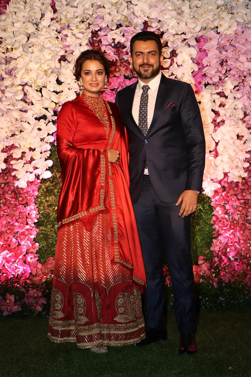 Akash Ambani and Shloka Mehta Reception