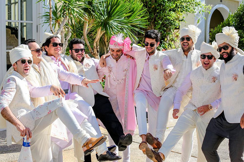 kaabia grewal, groomsmen photoshoot