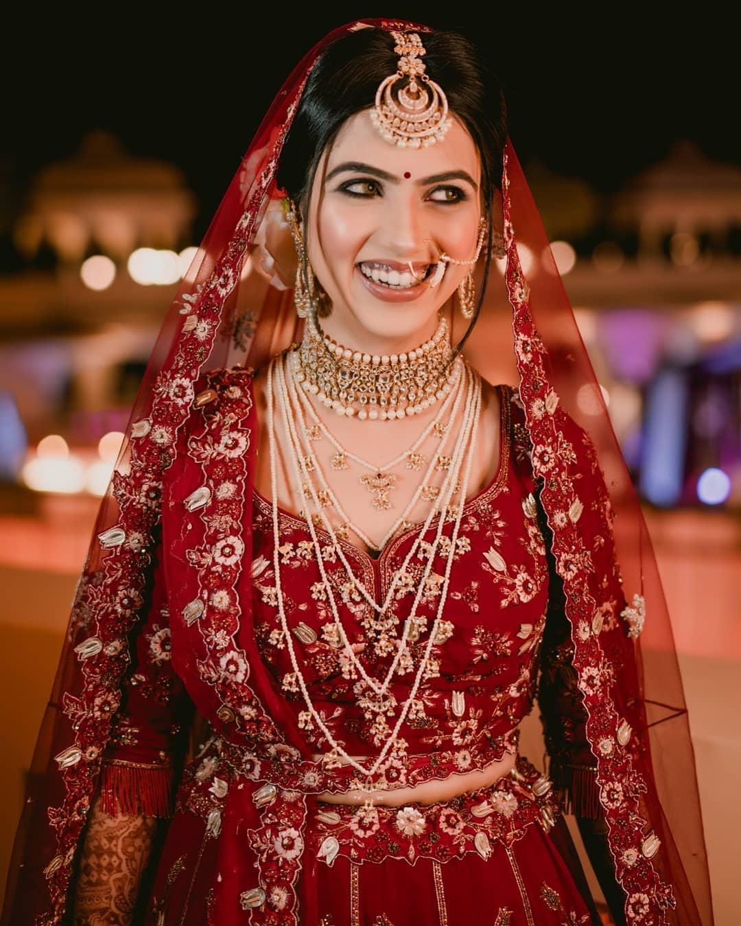 Indian bridal choker