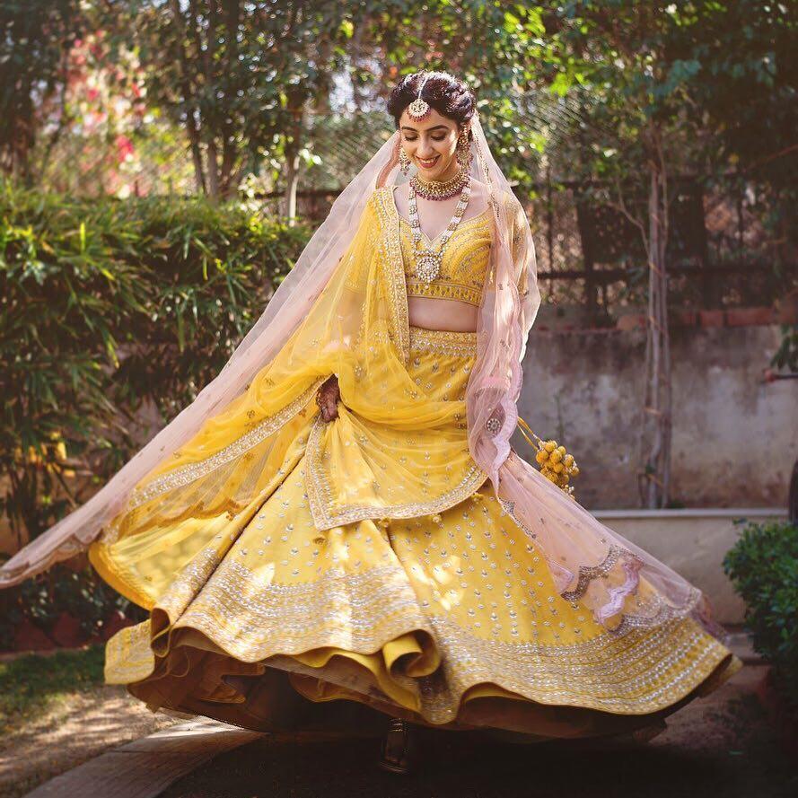 bridal lehenga trends